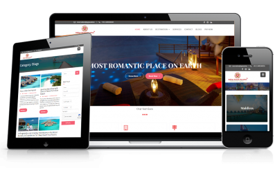 AG Vacation – A new brand identity with web design and development