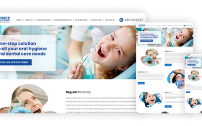 Family Dental Clinic Lead Driven Website Design