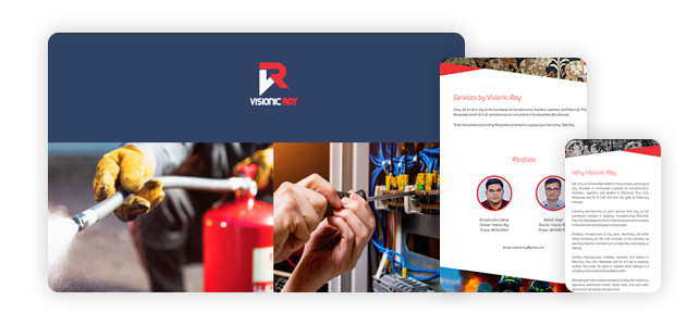 Visionic Ray  product design portfolio