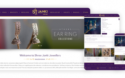 Shree Janki Jewellers Elevating businesses with a beautiful logo