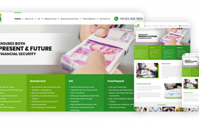Tulsi Financial Services – Best website design agency