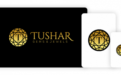Tushar Gems and Jewels – a custom branding design